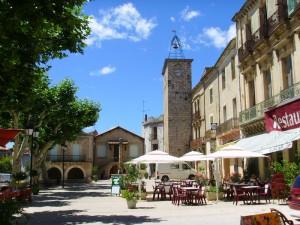 Le village de Saint Jean de Fos